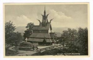 Fantoft Stavkirke, Norway, 1920-40s