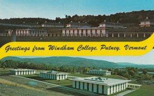 PUTNEY , Vermont , 1950-60s ; Windham College