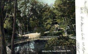 Trout Pond, Riverton Park in Portland, Maine
