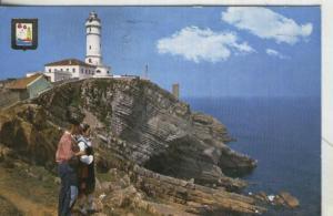 Postal: Santander: Faro de cabo mayor