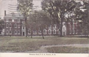 New Hampshire Exeter Webster Hall P E A 1923