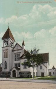 BRADFORD , Pennsylvania , 1915 ; First Presbyterian Church