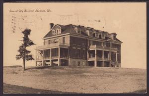 General City Hospital,Madison,WI Postcard