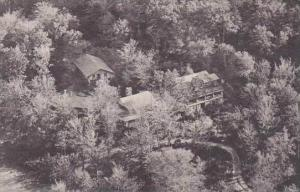 Vermont Rutland Aerial View Of Ledges Cabin Long Trail Lodge Of The Green Mou...