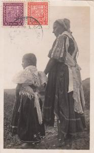 RP; Mother & Daughter, DELVA , Slovakia. PU-1921