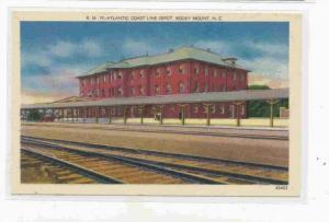 Atlantic Coast Line Depot, Rocky Mount, North Carolina, PU-30-40s