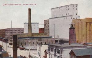 Iowa Cedar Rapids Quaker Oats Elevators