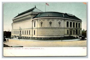Vintage 1900's Postcard Panoramic View Corcoran Gallery of Arts Washington DC