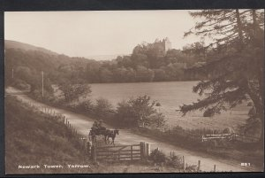 Scotland Postcard - Newark Tower, Yarrow   BH5818