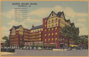 Evanston, ILL., North Shore Hotel - 1952