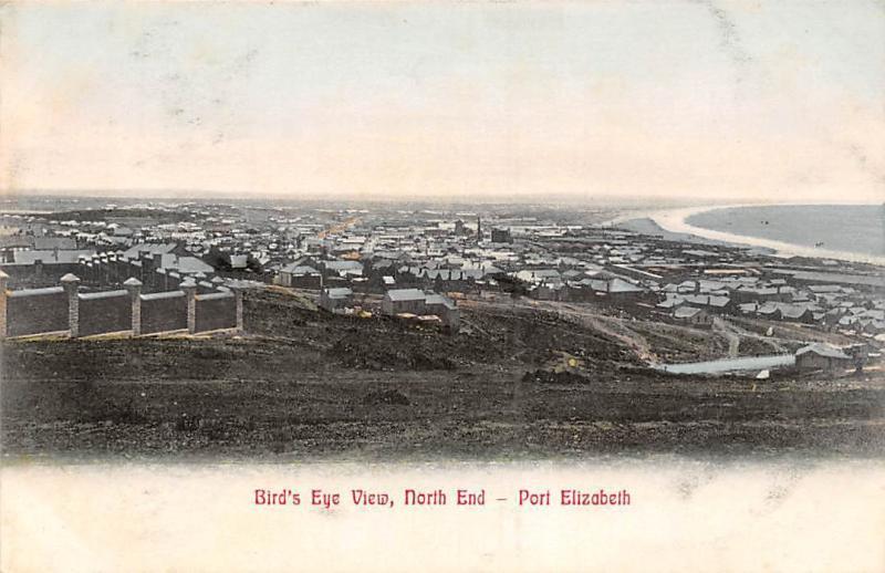 South Africa Port Elizabeth - Bird's Eye View, North End, General View