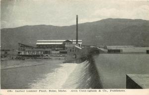 1901-1907 Postcard; Barber Lumber Plant, Boise Idaho ID Ada County Unposted