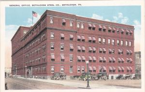 BETHLEHEM , Pennsylvania , 00-10s ; Bethlehem Steel Co. General Office