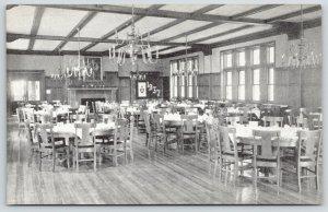 Burlington NJ~Doane Academy Episcopal Girls School~Scarborough Hall Dining~1937