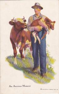 An Anxious Moment Successful Farming April Cover 1917