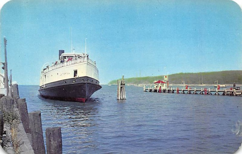 Port Jefferson, ferry Long Island, New York NY