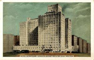 NY - New York City. Hotel Montclair