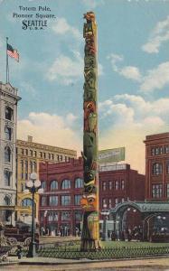 Totem Pole, Pioneer Square, Seattle, Washington, 00-10s