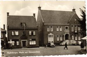 CPA Haaksbergen Markt met Gemeentehuis NETHERLANDS (728716)