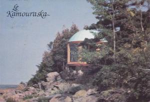 Le KAMOURASKA , Quebec , Canada , 60-70s : Poste d'observation au Sentier d'...