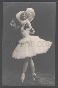 103277 GELTZER Russia BALLET DANCER Pierrette Vintage PHOTO