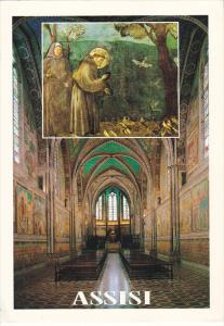 Italy Assisi Interior Upper Basilica of Saint Francis