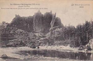 Le Chateau d'Arlempdes, Haute Loire, France, 00-10s