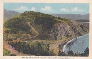Canada Nova Scotia Cape Breton Cabot Trail Rig Wash