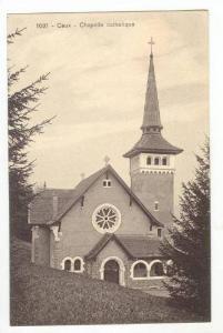 Catholic Church,Caux,Switzerland,1 900-10s