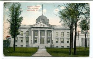 Court House Monticello New York 1915 postcard