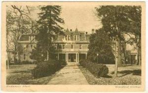 Founders Hall, Guilford College, North Carolina,1941 PU