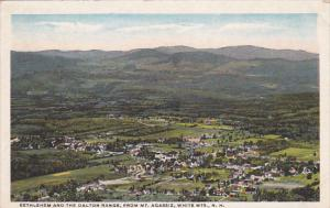 WHITE MOUNTAINS, New Hampshire, 1900-1910´s; Bethlehem And The Dalton Range,...