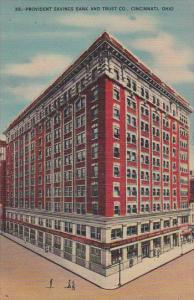 Provident Savings Bank and Trust Company Cincinnati Ohio Kraemer Art