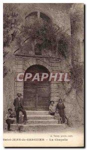 Old Postcard Saint Jean de La Chapelle Garguier