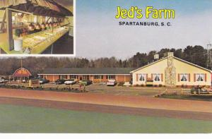 Exterior and Interior view,  Jed's Farm,  Spartanburg,  South Carolina,  40-60s