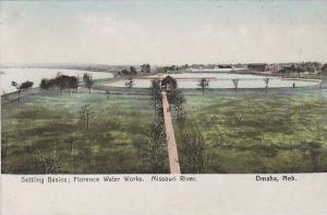 Nebraska Omaha Missouri River Florence Water Works Settling Basins