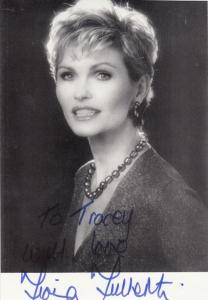 Fiona Fullerton A View To A Kill Hand Signed Photo