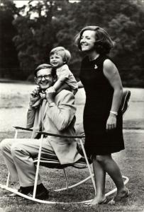 Dutch Princess Margriet and Pieter van Vollenhoven with Prince Maurits (1969) 1
