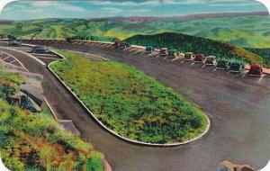 North Carolina Asheville Clingmans Dome Parking Area