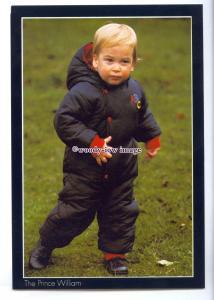 er0102 - Cheeky Toddler, Prince William Arthur Philip Louis Windsor - postcard
