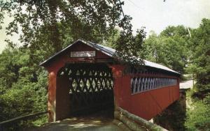 VT - Sunderland. Chiselville Bridge