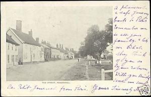 suffolk, PEASENHALL, The Street (1903)