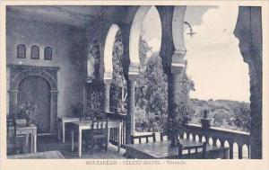 Algeria Bouzareah Celest Hotel Veranda