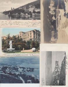 ABBAZIA OPATIJA CROATIE CROATIA 35 Cartes Postales 1900-1940.