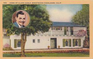 Home of Clark Gable(Portrait), Brentwood Highlands, California, 40-60s