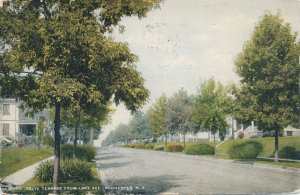 Rochester NY New York Selye Terrace from Lake Avenue near Maplewood Park pm 1911