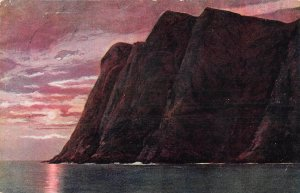 US3398 Verdenspostforeningen Sea Sun Cliffs Landscape Nord Kap Cap Norway