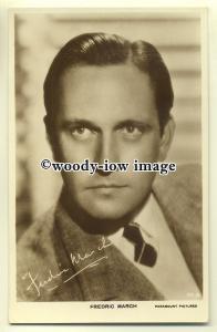 b2550 - Film Actor - Fredric March - postcard