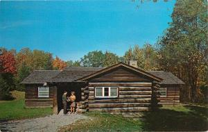 Family Cabins Oglebay Park Wheeling WV West Virginia Postcard