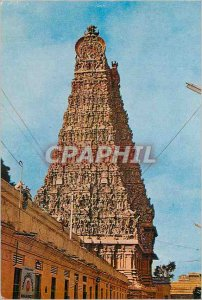 Postcard Modern Meenakashi Temple Madurai India